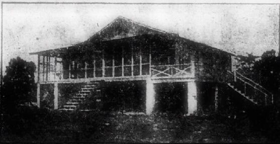 Henderson's Boy Scout organization built this structure on the Green River near Mason's Landing in 1921 as a camp site, although it was also used for years by other organizations across the Tri-State area. The building measured 51 by 52 feet and was divided into a bunk room that could sleep 50, a dining room, an assembly room with a fireplace in the center, a kitchen, and a room for the scoutmaster. (Gleaner file photo)