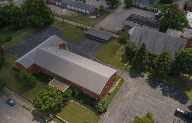 The property at 212 East College St. in Old Louisville will soon allow tents to be set up at the site, and residents will have access to showers and restrooms.  This is one step in an effort to begin to move unhoused residents into permanently affordable housing. Aug. 20, 2021