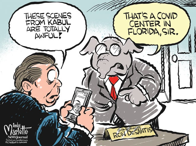 Marlette cartoon: Florida or Kabul?