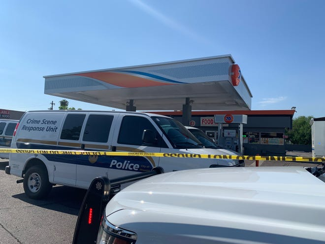 Two men and a teenage boy were killed in a shooting at 43rd Avenue and Bethany Home Road in Phoenix on Aug. 20.