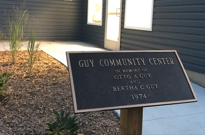 Marine City commissioners meet in the Guy Center at the new city offices, 260 S. Parker St.