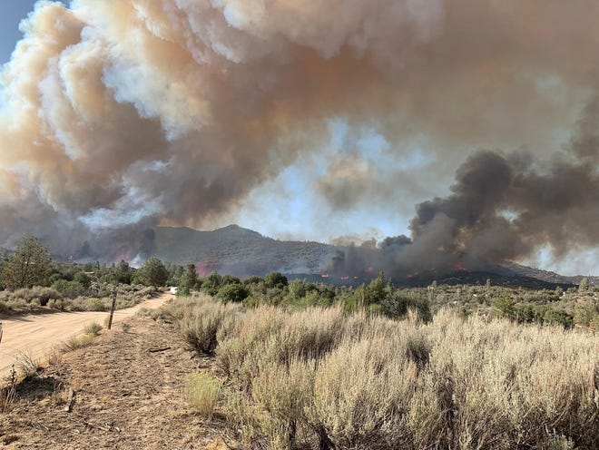 The French Fire was reported Wednesday, August 20, 2021 in Kern County.