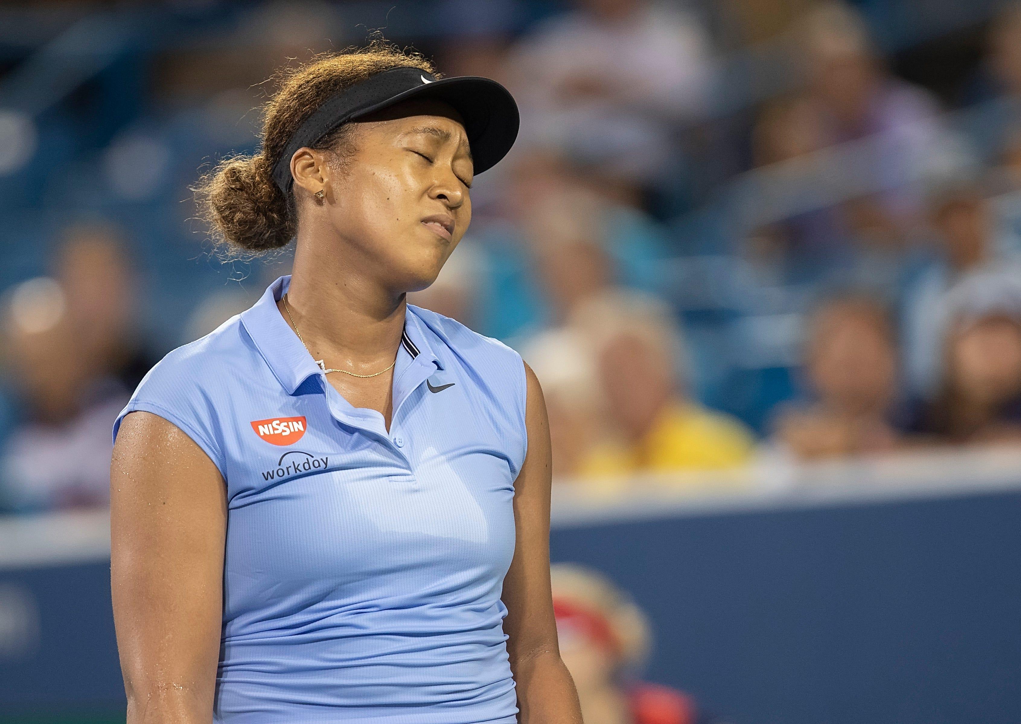Naomi Osaka upset by Jil Teichmann in third round of Western & Southern Open