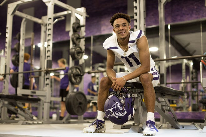 Spearman's Brenen Thompson, who held more than 30 collegiate offers, announced his top 3 list Friday, which included Oklahoma State, Texas and Texas A&M.