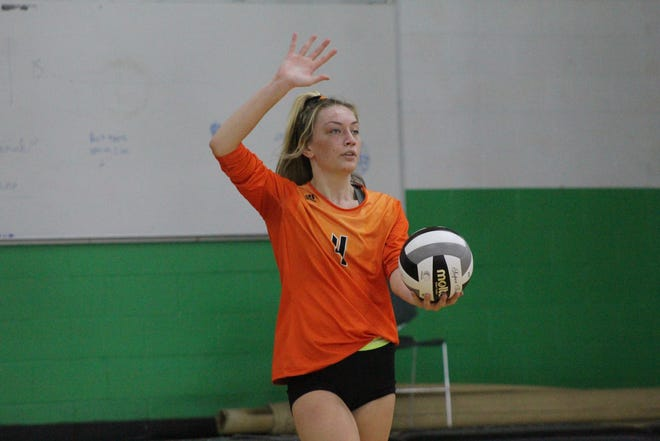 GALLERY: Lucas, Northmor at Clear Fork volleyball tri