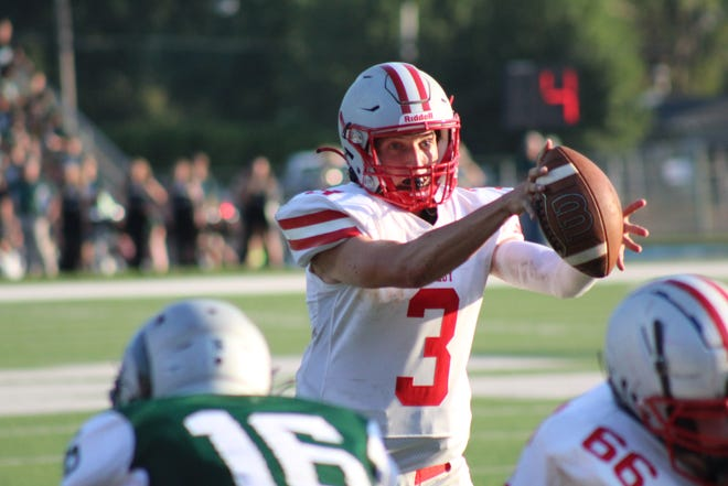 Shelby's Marshall Shepherd had a huge 6-touchdown performance in Week 1 against Madison.