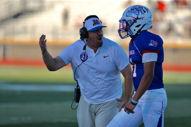 Las Cruces fell to Cleveland for its third straight loss on Friday, Sept. 10, 2021.