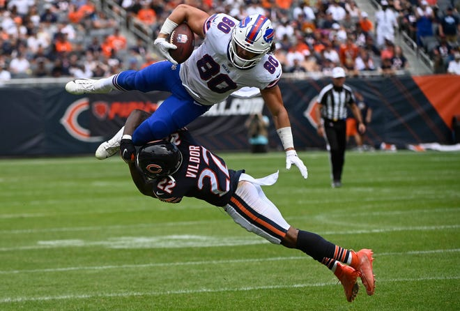 Jacob Hollister was waived Tuesday, but the tight end is expected to re-sign with the Bills following the waiver claiming period.