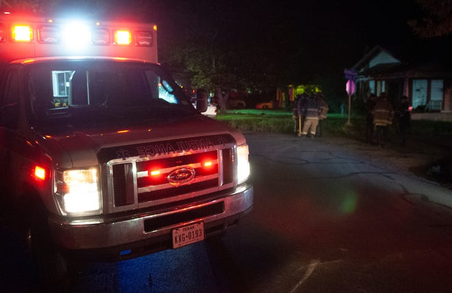 Wichita Falls firefighters responded to a report of a house fire in the 1200 block of Monroe Street Saturday morning. A fire investigator said neighbors saw smoke coming from the house and tried to put out the fire before calling for help.