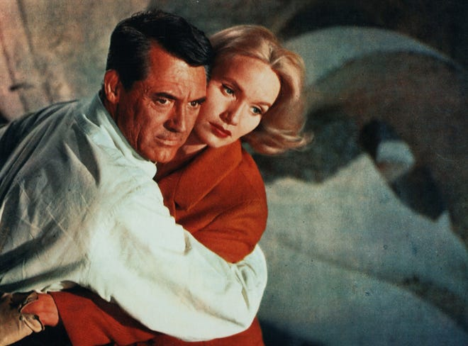 """Cary Grant and Eva Marie Saint in a scene from """"North by Northwest,"""" screening Aug. 28-29 at the Ohio Theatre."""