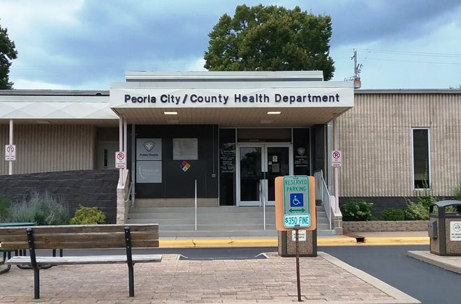 The Peoria City/County Health Department, located along Sheridan Road in Central Peoria.