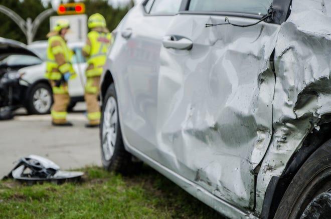 Car accident report.