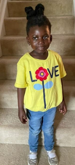 4-year-old Emerie is missing from Hamilton Township in Warren County.