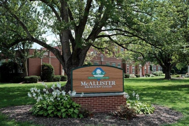 McAllister Recreation Center, 2351 North 20th St., Sunday, Aug. 22, 2021 in Lafayette