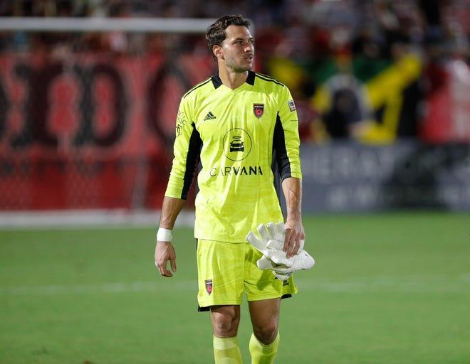 Phoenix Rising FC goalkeeper Andre Rawls had nine saves in a 0-0 draw with Sacramento Republic Saturday night.