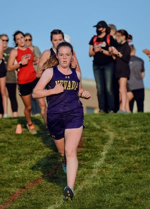 Junior Bridget Cahill is one of the top returning runners for the Nevada girls' cross country team entering the 2021 season.