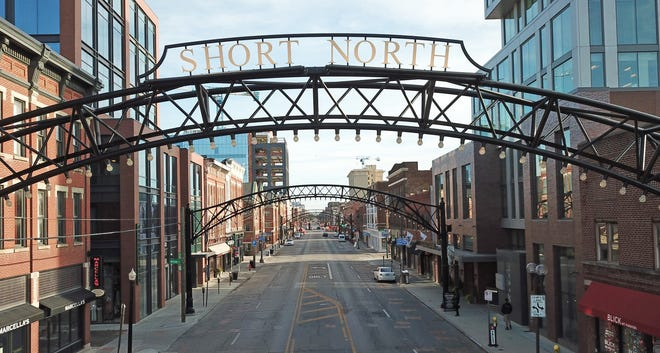 The Short North arches resemble arches that graced North High Street generations ago.
