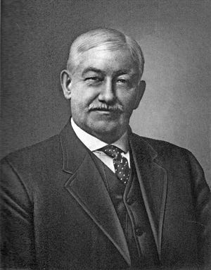 A former laborer and telegraph operator, William A. Sawyer served two terms as Monmouth mayor, while developing a major Monmouth-based life insurance company.