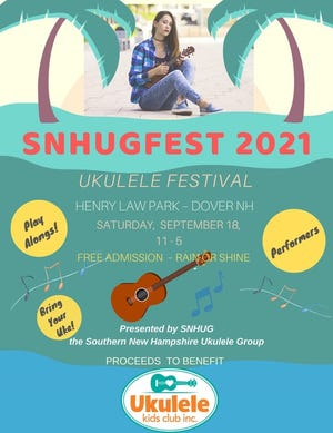 On Saturday, Sept. 18, 2021, the south lawn of Dover's Henry Law Park will be buzzing with an all-day music festival called SNHUGFEST.