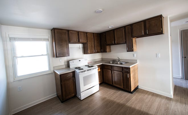 Nearly complete renovated units at Reverend E.D Butler and Walnut Woods public housing communities. Crestmont upgrades would be similar, though unit layout is different.