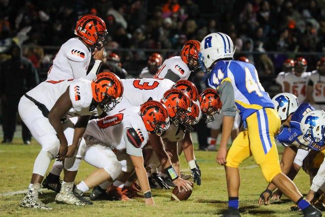 Friday's Richlands-Southwest varsity football game was postponed.