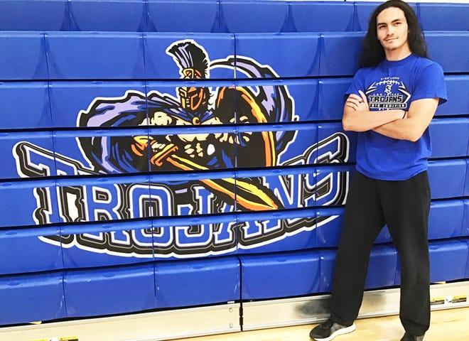 Las Animas High School senior James Zook has been named the 2021-22 Mr. Trojan.