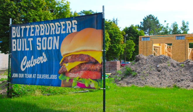 A new Culver's restaurant location is under construction in Charlevoix.