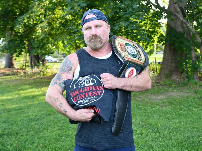 Tom Rosa, 53, of Hampton Falls has been boxing for 40 years, and is showing no signs of slowing down.