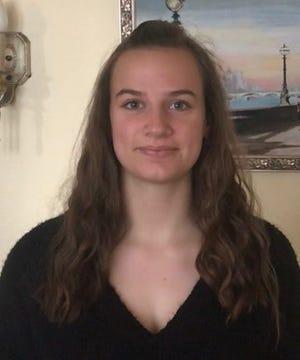 Mary Hauser, a senior at Kennebunk High School.