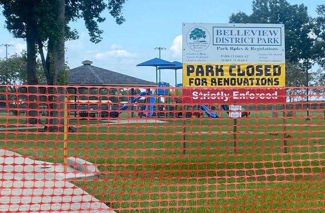 Work is scheduled to begin this fall on upgrades to the Belleview District Park.