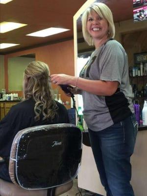 Lisa Goertzen is the owner of Blades Hair Studio.