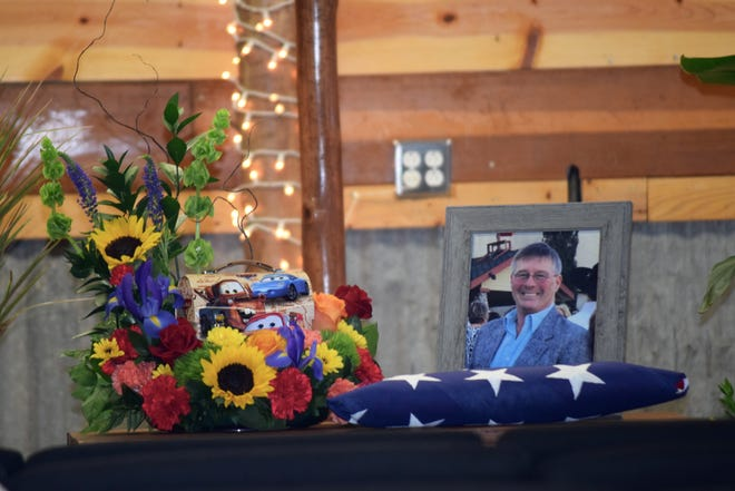 """Landy Cason - April 9, 1957 - August 16, 2021. The memorial service for Cason was held on August 21. Cason was the owner of Cason's Mercantile and co-host of the KRUN radio morning show, """"The Jeff & Landy Show."""""""