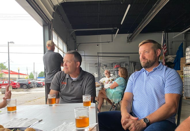 Friends Michael Chisnell and Jason Slater started Ignite Brewing Company in an old BF Goodrich tire shop in Barberton.