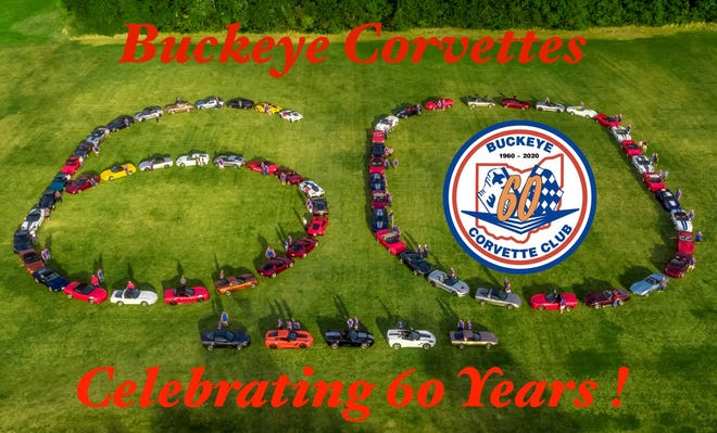 Drone view of Buckeye Corvette Club