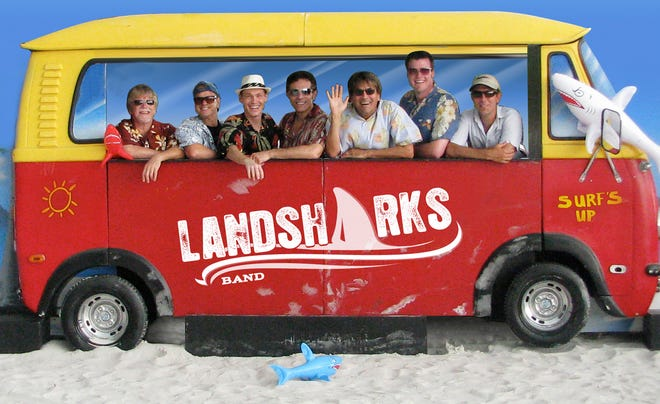 """Gary Roland and The Landsharks Band will perform Aug. 28, 2021, at The Mendel Center's """"Drive-in Live Beach Bash"""" at Lake Michigan College in Benton Harbor."""