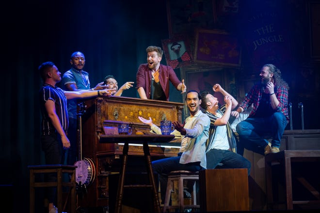 The Choir of Man, a pub-style concert of pop, classic rock, folk, Broadway and more, makes its Sarasota debut at the Van Wezel Performing Arts Hall.