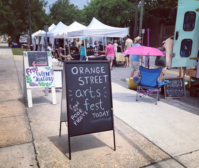 The 25th Orange Street ArtsFest will be held Labor Day weekend, Sept. 4-5, in downtown Wilmington.