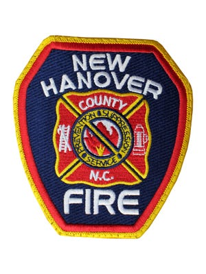 New Hanover County Fire-Rescue patch photographed Nov. 14, 2014.