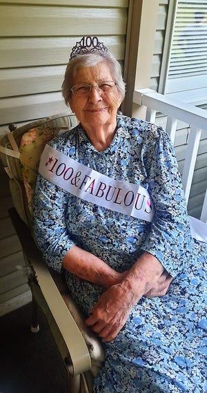 Hilda Schneider celebrated her 100th birthday recently.