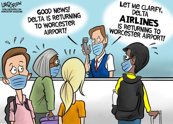 Delta Airlines is returning to Worcester Airport ... don't confuse it with that OTHER Delta.