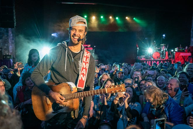 Michael Franti with his band Spearhead will play outdoors at Salvage Station on Aug. 29, 2021.