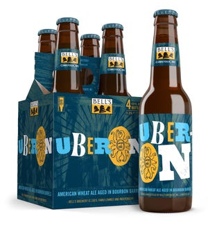 Uberon, a bourbon barrel-aged version of Oberon, from Bell's Brewery.