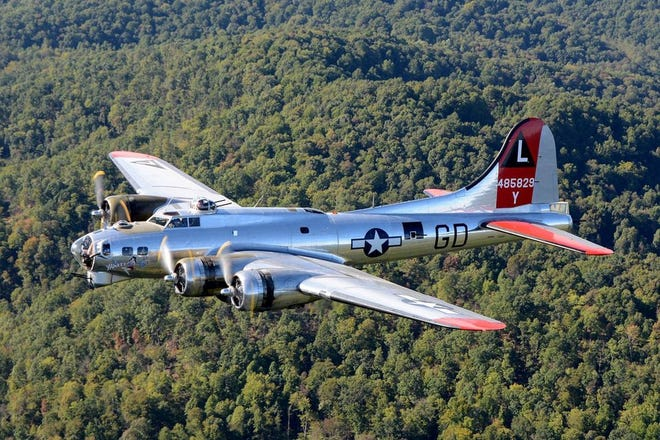 World War II B-17 Flying Fortress  will be at the Liberty Aviation Museum in Port Clinton on Aug. 29.