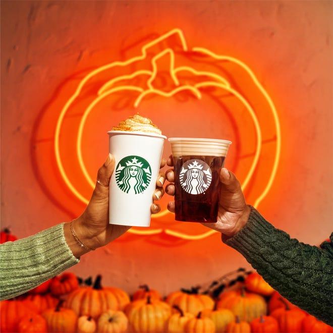 Starbucks brings back seasonal favorites, the Pumpkin Spice Latte and Pumpkin Cream Cold Brew August 24, 2021