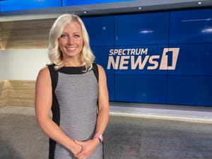 Former WHAS meteorologist Kristin Walls has returned to Kentucky to take on a new role with Spectrum News 1's morning show.