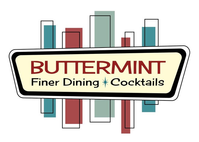 The logo for Buttermint Finer Dining and Cocktails, planned in Shorewood, evokes the early 1960s, the era serving as the inspiration for the menu, drinks and decor.