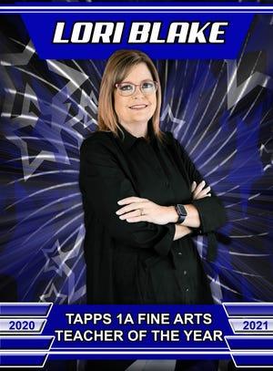 Wichita Christian School art teacher Lori Blake was honored by the Texas Association of Private and Parochial Schools.