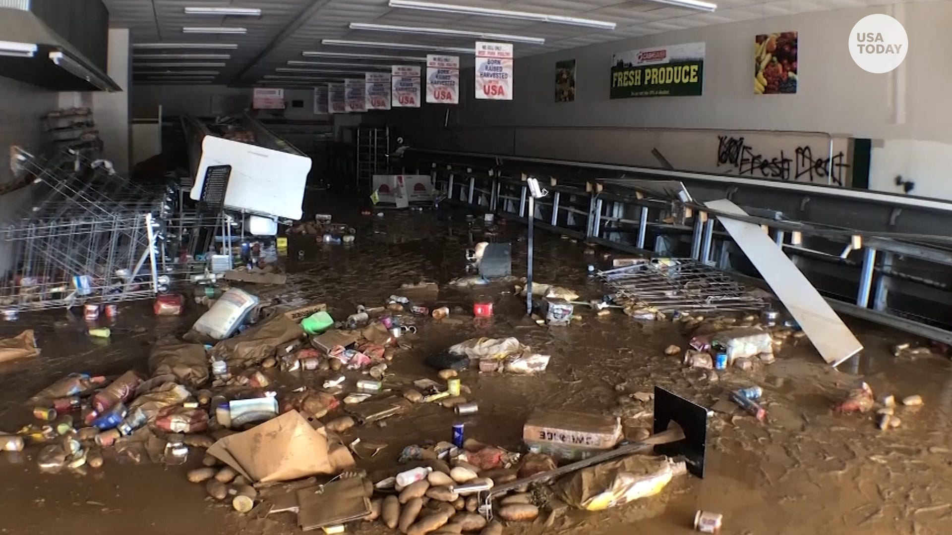 Many people are dead or missing after catastrophic flash floods struck all across Tennessee, and President Biden offers full federal support.
