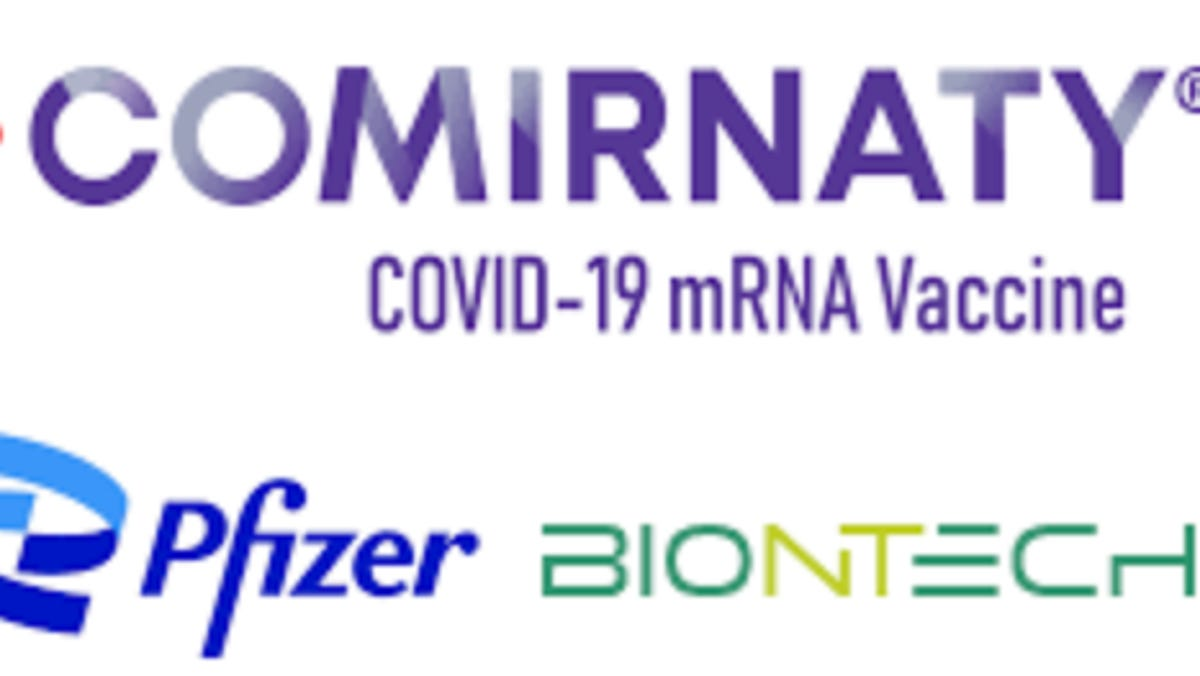 Comirnaty is brand name for the FDA-approved Pfizer-BioNTech vaccine