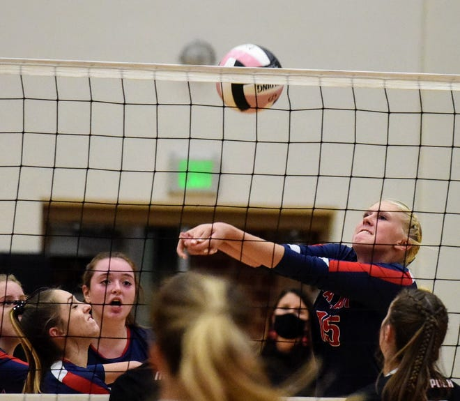 Sophomore middle blocker Brooklyn Baumgardner is one of several talented youngsters the Ballard volleyball team will be counting on in 2021. The Bombers are going for their third winning season in the last 14 years after finishing 12-14 a year ago.